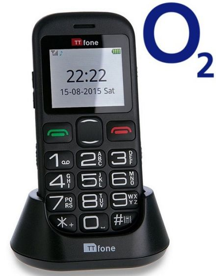 TTfone Jupiter 2 TT850 O2 (Bundle) Pay as you go
