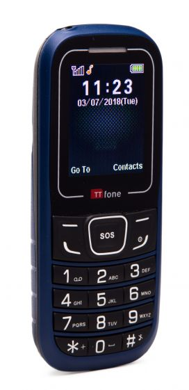 TTfone TT110 Mobile Phone with SOS Blue