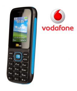 TTsims TT120 Dual SIM Mobile Phone Blue Vodafone Pay As You Go