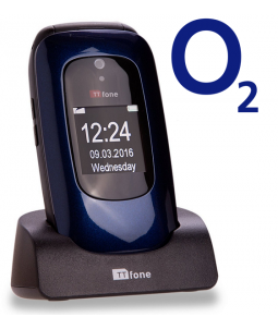 TTfone Lunar TT750 - Blue - O2 Pay As You Go