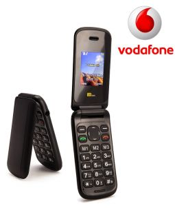 TTsims TT140 Black Mobile Phone Vodafone Pay As You Go