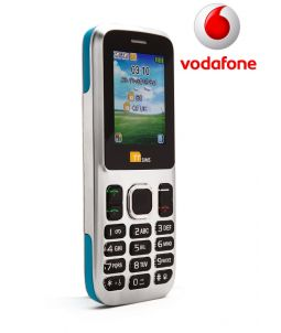 TTsims TT130 Dual SIM Mobile Phone Blue Vodafone Pay As You Go