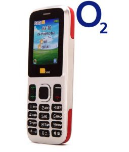 TTsims TT130 Dual SIM Mobile Phone Red O2 (Bundle) Pay As You Go