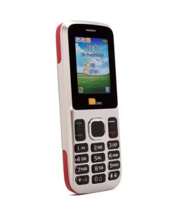 TTsims TT130 Dual SIM Mobile Phone Red