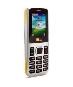 TTsims TT130 Dual SIM Mobile Phone Yellow