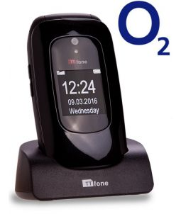 TTfone Lunar TT750 - Black - O2 (Bundle) Pay As You Go