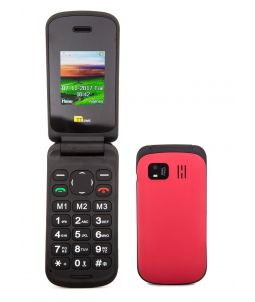 TTsims TT140 Red Mobile Phone