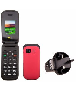 TTsims TT140 Mobile Phone With Mains Plug Charger