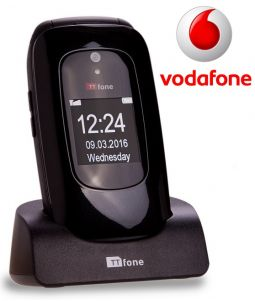 TTfone Lunar TT750 - Black - Vodafone Pay As You Go