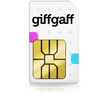 Giffgaff Pay As You Go Sim Card