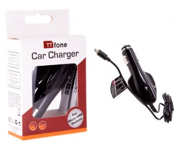 TTfone Original In Car Charger for TTfone Big Button Easy to use mobile phones