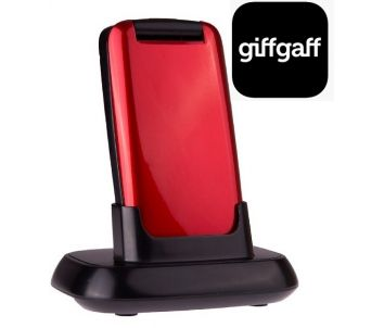 TTfone Star (TT300) Red Giffgaff Pay As You Go