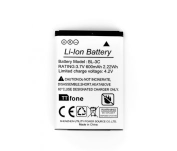 TTfone Original Battery for TTfone TT300 Star