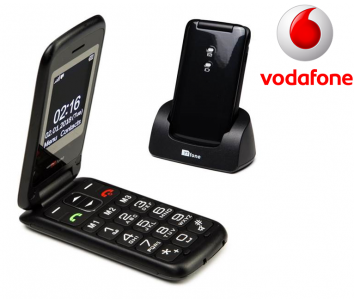 TTfone Nova TT650 Black Vodafone Pay As You Go