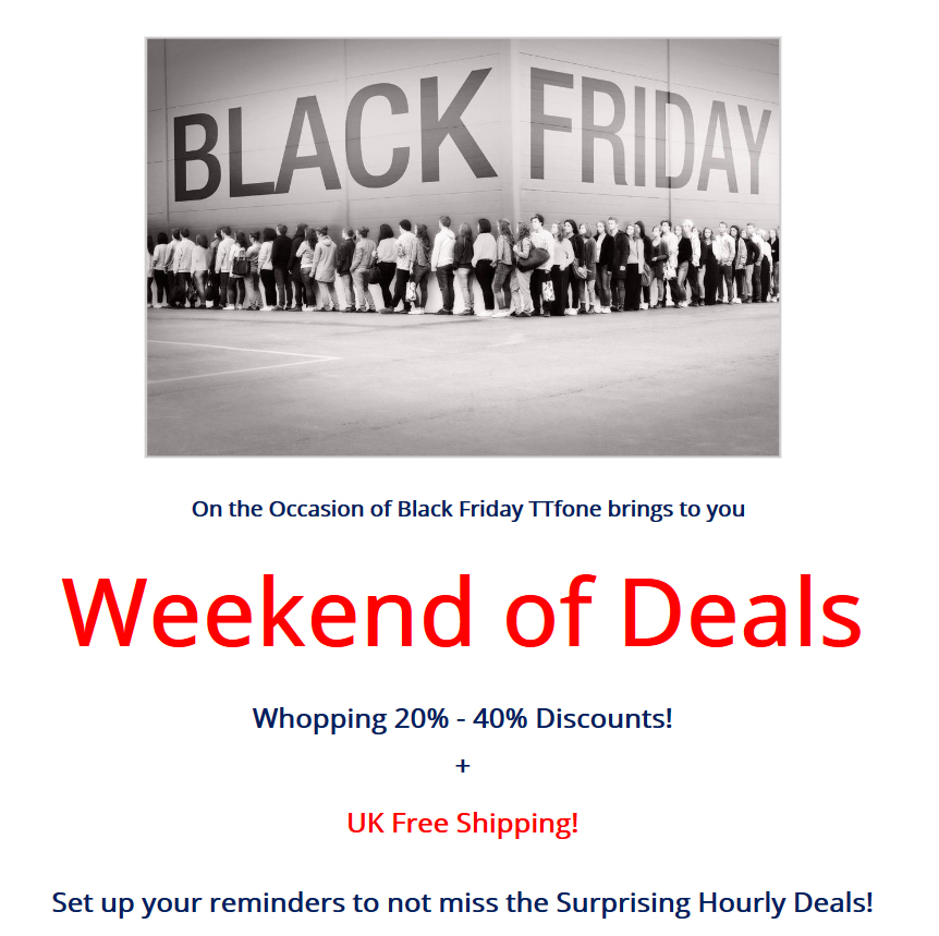 Black Friday Weekend of Deals