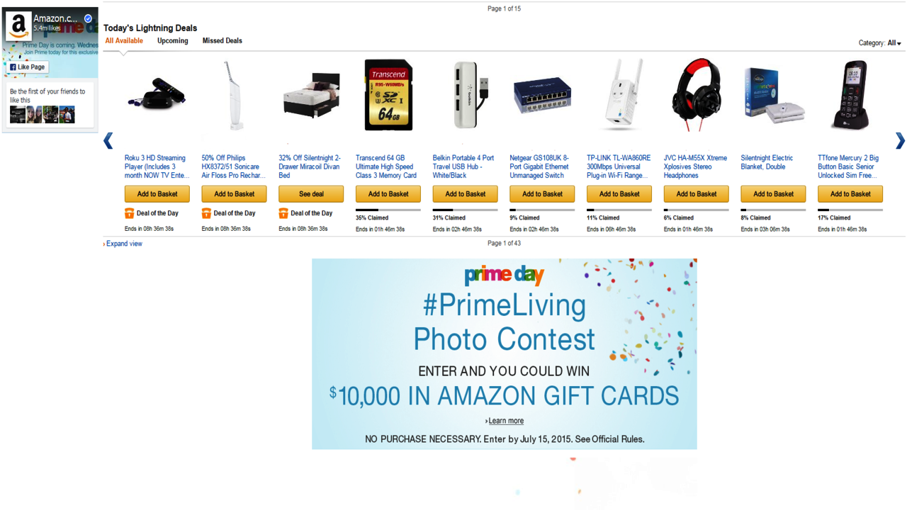How was your ''Prime Day''