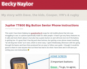 Big Thank you to Becky Naylor and her Jupiter easy instructions
